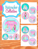 NUTCRACKER Birthday- Winter Birthday Party- Pink- Ballerina Party - COMPLETE- Snowflake- Nutcracker Party