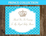 Prince BABY SHOWER - Royal Prince Party  Prince Napkin Rings