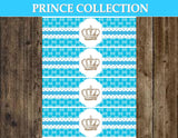 Prince BABY SHOWER - Prince Party - Royal Prince Party  Prince BOTTLE LABELS