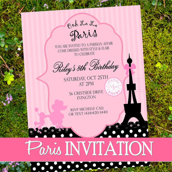 PARIS Birthday Party
