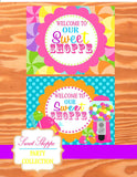 SWEET SHOPPE Party- Sweet Shop Party- SIGN- Candyland