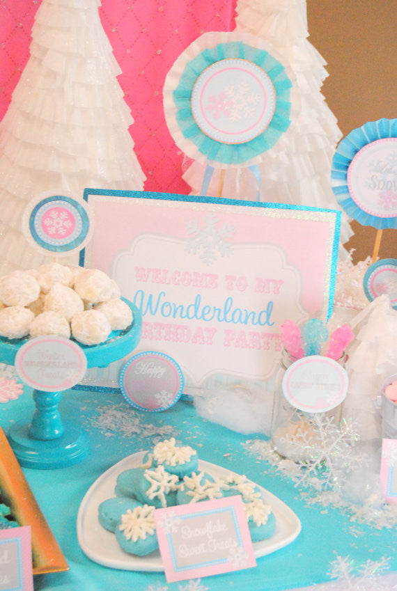 WINTER Wonderland Party- Winter ONEderland SIGN- Onederland- Snowflake