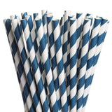 Blue Swirls Eco Straws
