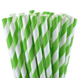 Green Swirls Eco Straws
