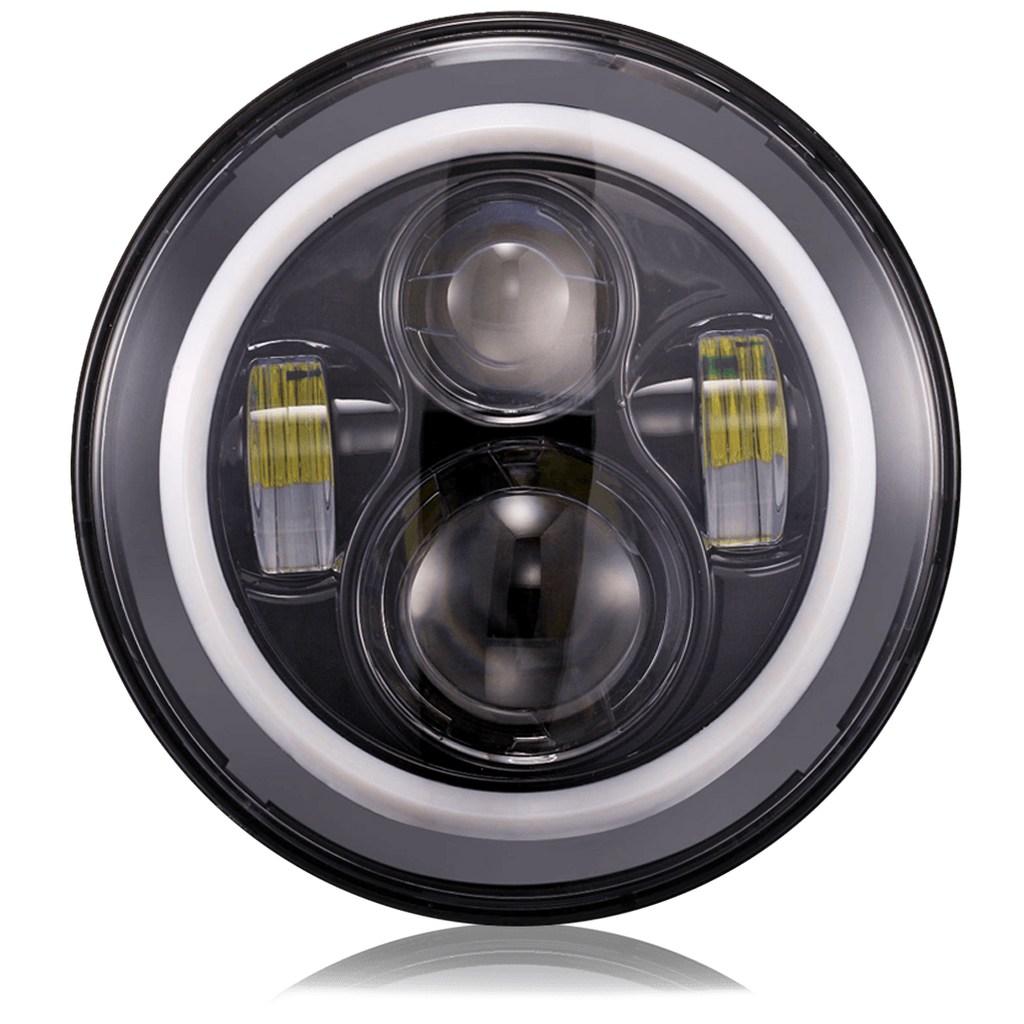 "7"" LED Headlights - Multicolor - Reconditioned - Heavily Discounted, , SUITECH, SUITECH - SUITECH"