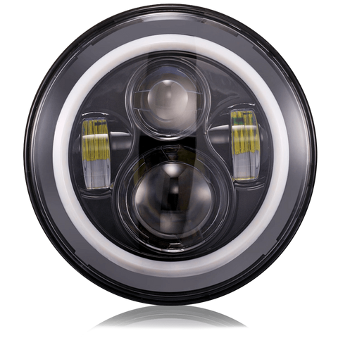 "7"" LED Headlights - Multicolor, , SUITECH, SUITECH - SUITECH"