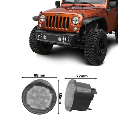 Jeep Wrangler LED Turn Signal 2007-2016, , SuiTech, SUITECH - SUITECH