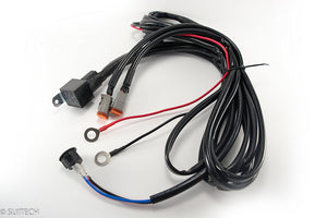 Double Deutsch Connector Wiring Harness Kit - 2 Pin Deutschs Electrical Plugs, , SUITECH, SUITECH - SUITECH