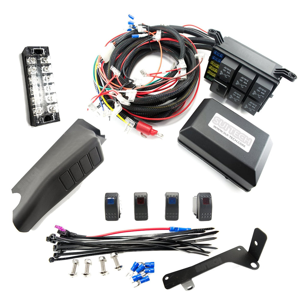 Jeep Wangler Jk Jku Control Box 4 Switch Electronic Relay System That Can Be Used For Getting The Wire From To Tap Expand