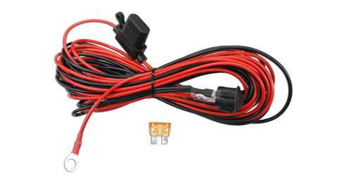 Image of  Wiring Harness - 16 Ft Long with Battery Terminals, Electronic, SuiTech, SUITECH - SUITECH
