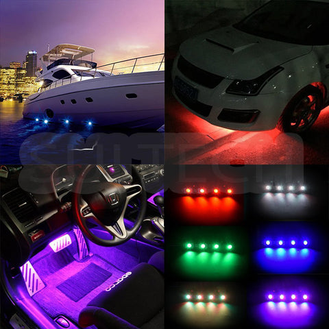 RGB Multi-color Rock Light, LED, SuiTech, SUITECH - SUITECH