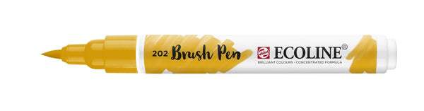 Ecoline Brushpen 202 Deep Yellow