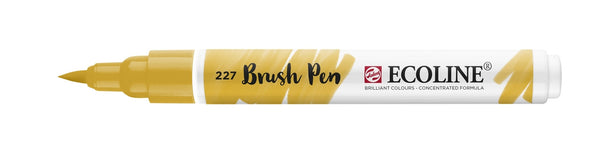 Ecoline Brushpen 227 Yellow Ochre