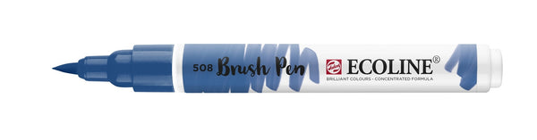 Ecoline Brushpen 508 Prussian Blue