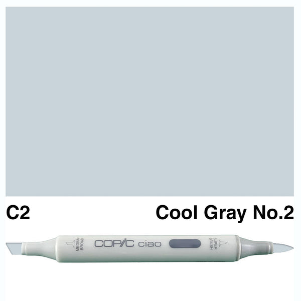 Copic Ciao C-2 Cool Gray No.2