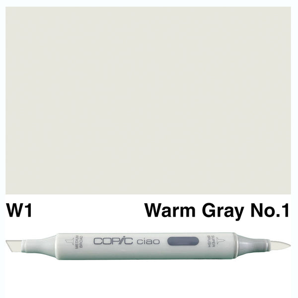 Copic Ciao W-1 Warm Gray No.1