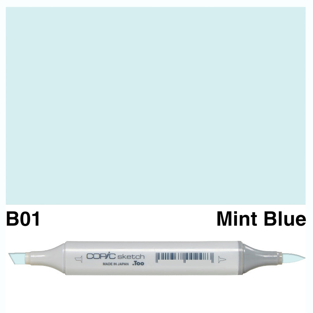 Copic Sketch B01 Mint Blue