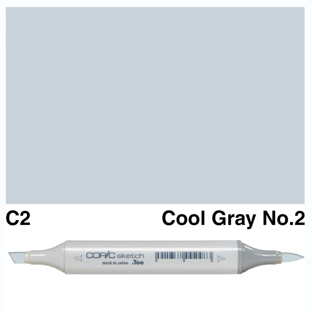 Copic Marker Pen - Sketch - C-00 Cool Gray No.2