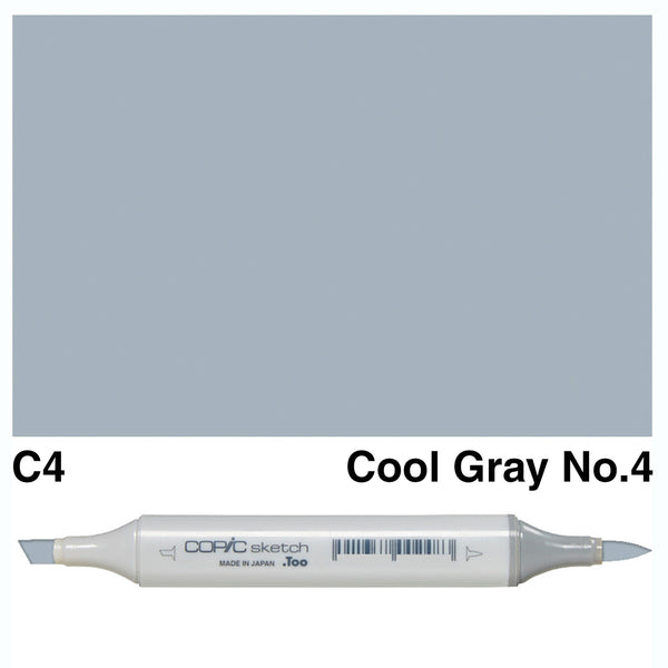 Copic Marker Pen - Sketch - C-00 Cool Gray No.4