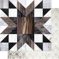 Uniquely Creative - Winter Rose Collection -  Parquet Paper  UCP2052