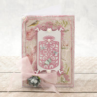 Couture Creations - Cutting Die Set - Rosy Frame & Tag - C'est La Vie - (CO725761)