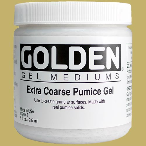 Golden Extra Course Pumice Gel