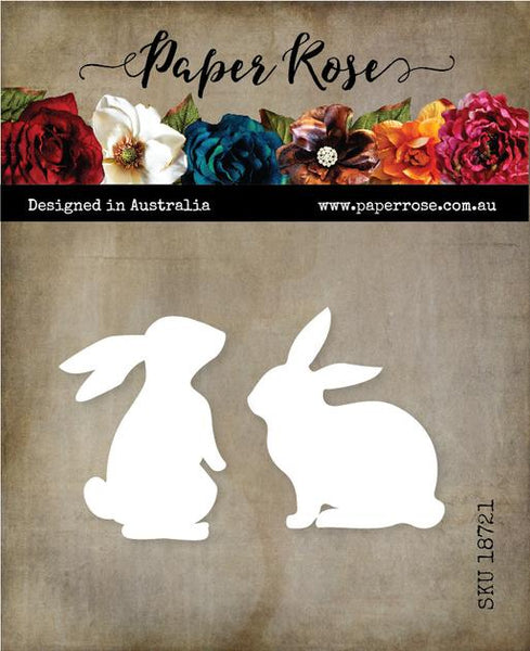 Paper Rose Cutting Die Bunnies Large 18721