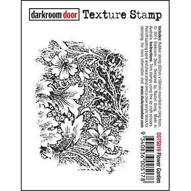 Darkroom Door - Texture Stamp - Flower Garden (DDTS019)
