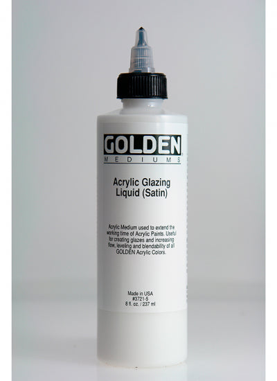 Golden Acrylic Glazing Liquid (Satin)  237ml