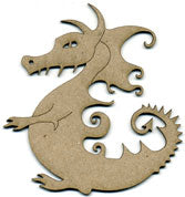 Scrap FX - Embellishments -Dragon A (2009001)