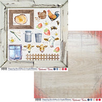 Redwood Farm 12x12 Double-Sided Patterned Paper 005 Designed by Alicia Redshaw Exclusively for Scrapbook Fantasies