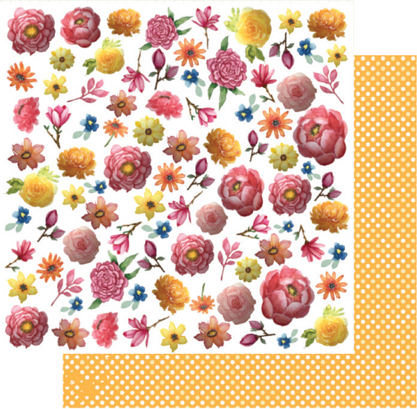 Uniquely Creative - Mother Nature Collection -  Fussy Cuts Florals UCP2037
