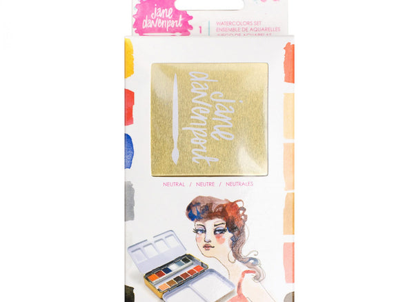 Jane Davenport Mixed Media- Neutral Watercolour Palette (376365)