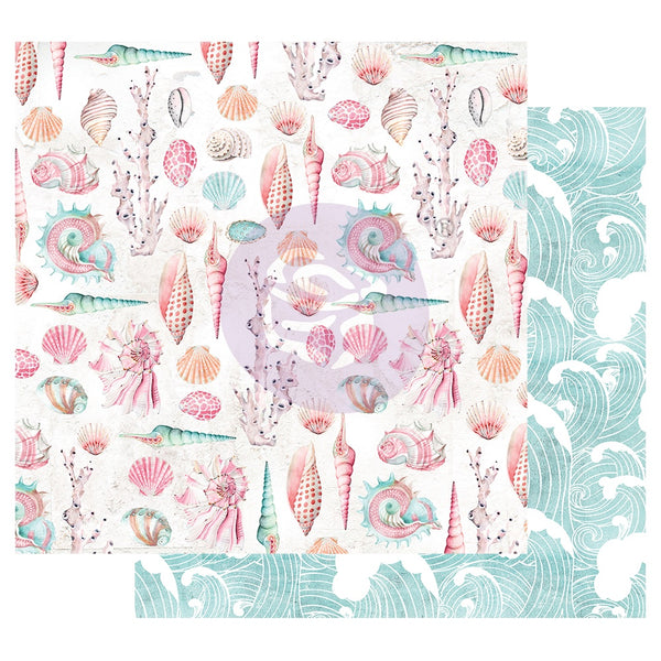 Prima Surfboard Collection Patterned Paper All the Shells  (849528)