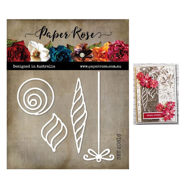 Paper Rose Cutting Die Modern Ornaments 20616
