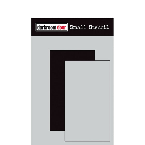"Darkroom Door - Small Stencil - Rectangle Set (4.5"" x 6"") (DDSS022)"