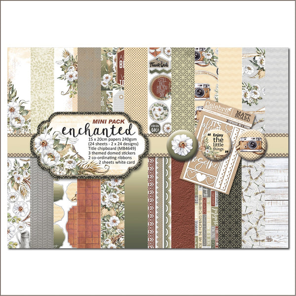 "Celebr8 6x8"" Mini Paper Pack - Enchanted PP5220"
