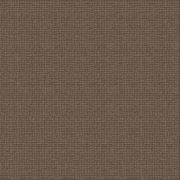 Cardstock 12 X 12 Linen 216gsm Chocolate (single sheet) ULT200040