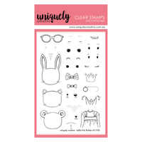 Uniquely Creative - Clear Stamp - Selfie Pals Builder (UC1750)