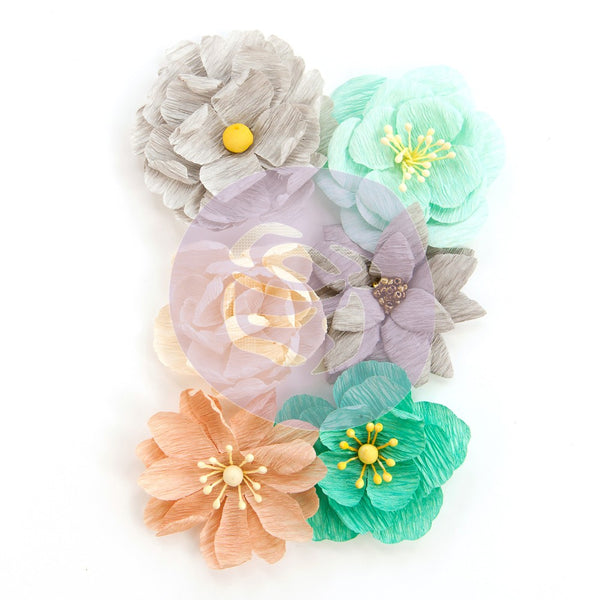 Prima Flowers - Made with Love - Zella Teal - 6 piece set (597177)
