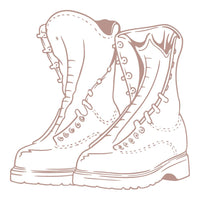 Couture Creations Lest We Forget Mini Stamp Boots (1pc) CO727693