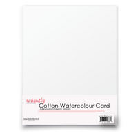 Uniquely Creative - A4 Cotton Water Colour Card (10 Pack)