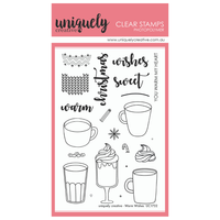 Uniquely Creative - Clear Stamp - Warm Wishes (UC1732)