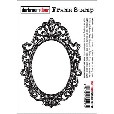 Darkroom Door -Frame Stamp - Ornate Mirror (DDfr019)