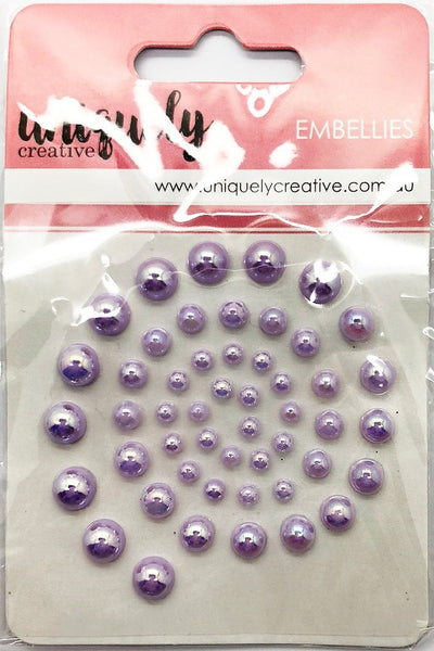 Uniquely Creative - Pearl Bling - Lavender Pearls (UCE1748)