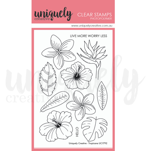 Uniquely Creative - Clear Stamp - Tropicana (UC1792)797776943913