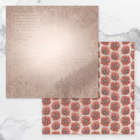 Couture Creations Lest We Forget Double Sided Patterned Paper 2 CO727676