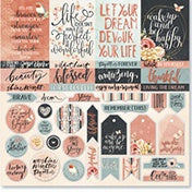 Celebr8 12x12 d/s Patterned Paper - You are Amazing - Grateful PP4806
