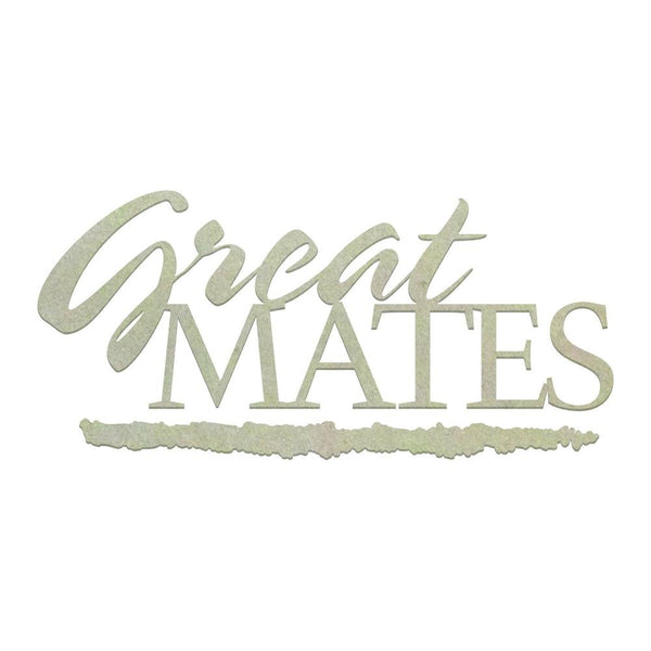 Couture Creations - Great Mates Chipboard Set (2 pieces) (CO725855)
