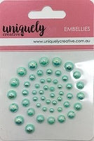 Uniquely Creative - Pearl Bling - Light Blue Pearls (UCE1752)